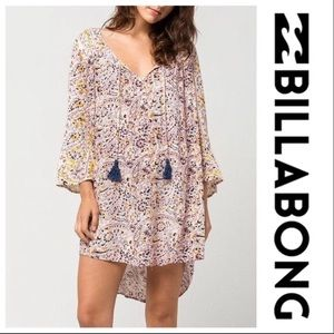 Billabong Buttercup Paisley Mini Dress Cover Up